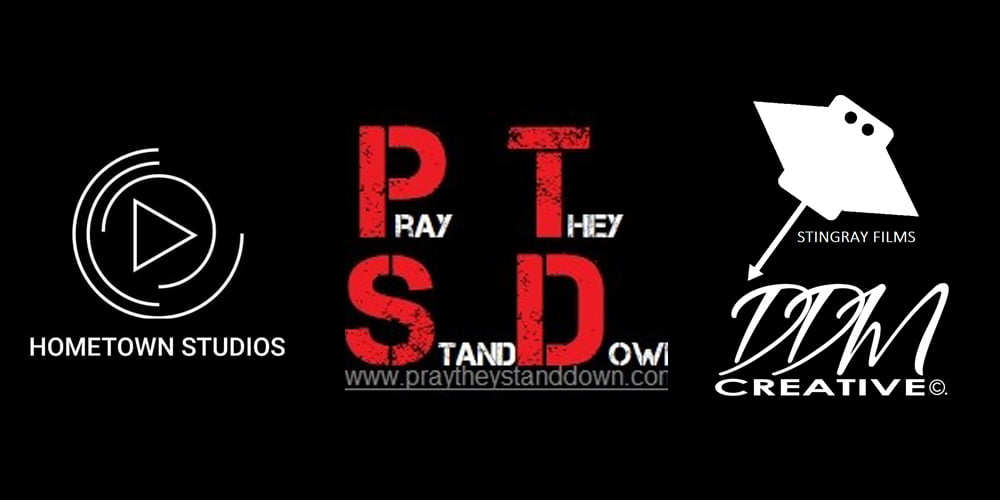 Pray They Stand Down Logo Banner